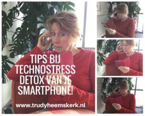 Trudy Heemskerk smartphone stress